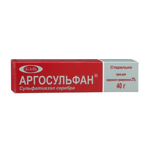 Инструкция к аргосульфан (крем)