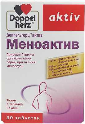Применение доппельгерц актив при менопаузе