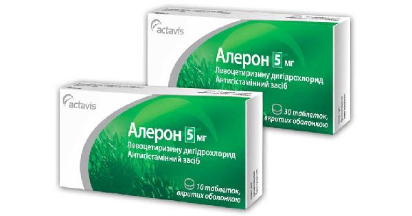 Алерон: инструкция к препарату, описание, аналоги