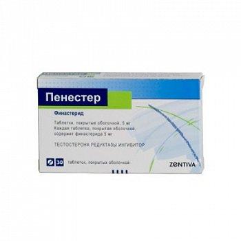 Финастерид: таблетки 5 мг тева, obl
