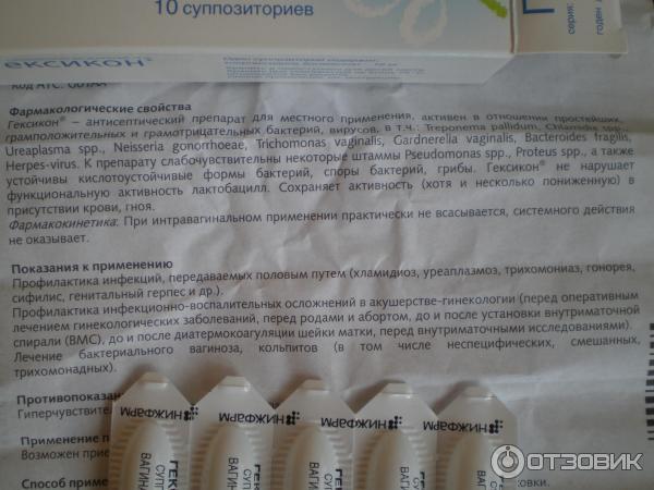 Гексикон при беременности - инструкция, побочные действия / mama66.ru