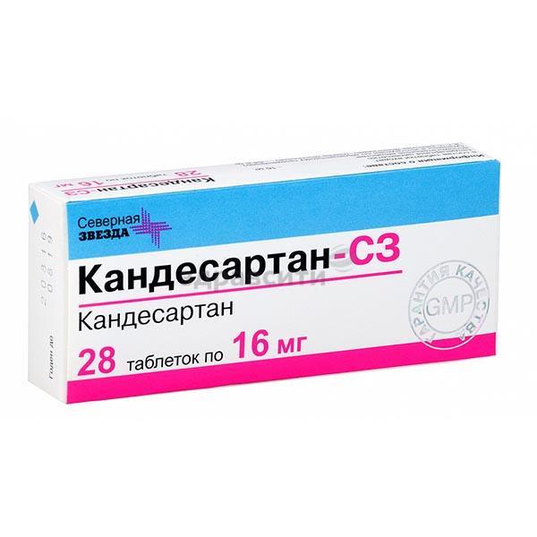 Лекарство кандесартан и его аналоги