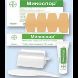 Лосьон микостоп для ногтей