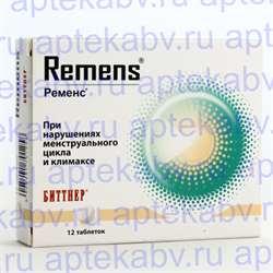 """""""ременс"""": инструкция по применению, формы выпуска, отзывы, аналоги"""