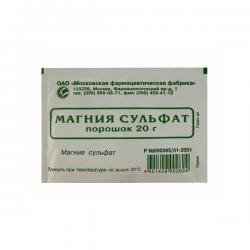 Магния сульфат - применение, инструкция, показания