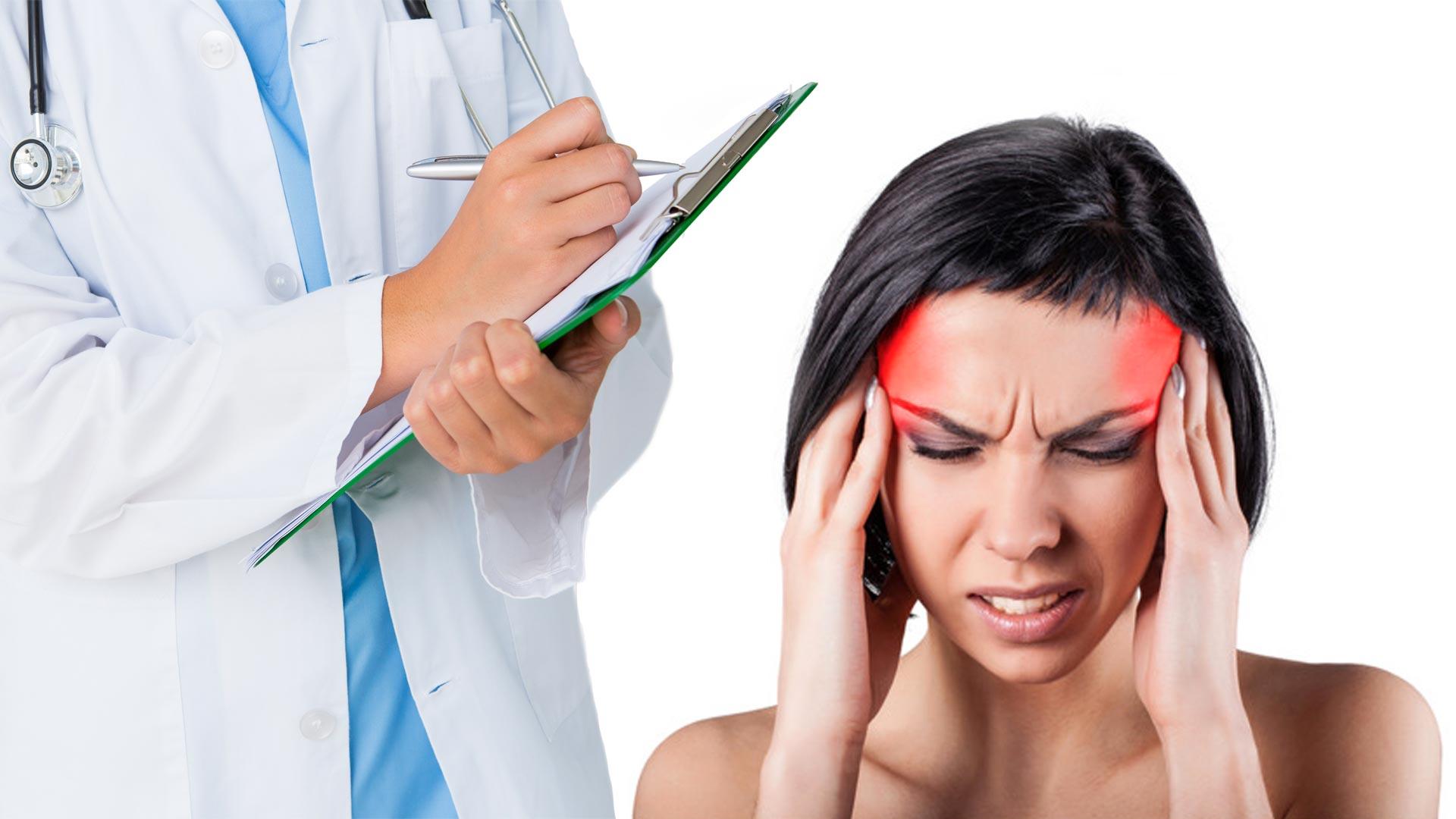Сильная головная боль в области лба и глаз: лечение и причины