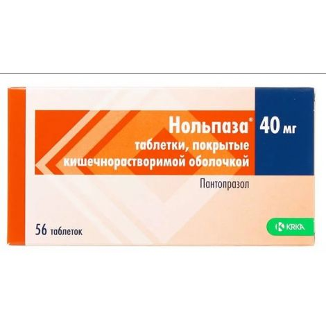 Таблетки нольпаза — от чего назначают, действующее вещество и побочные эффекты