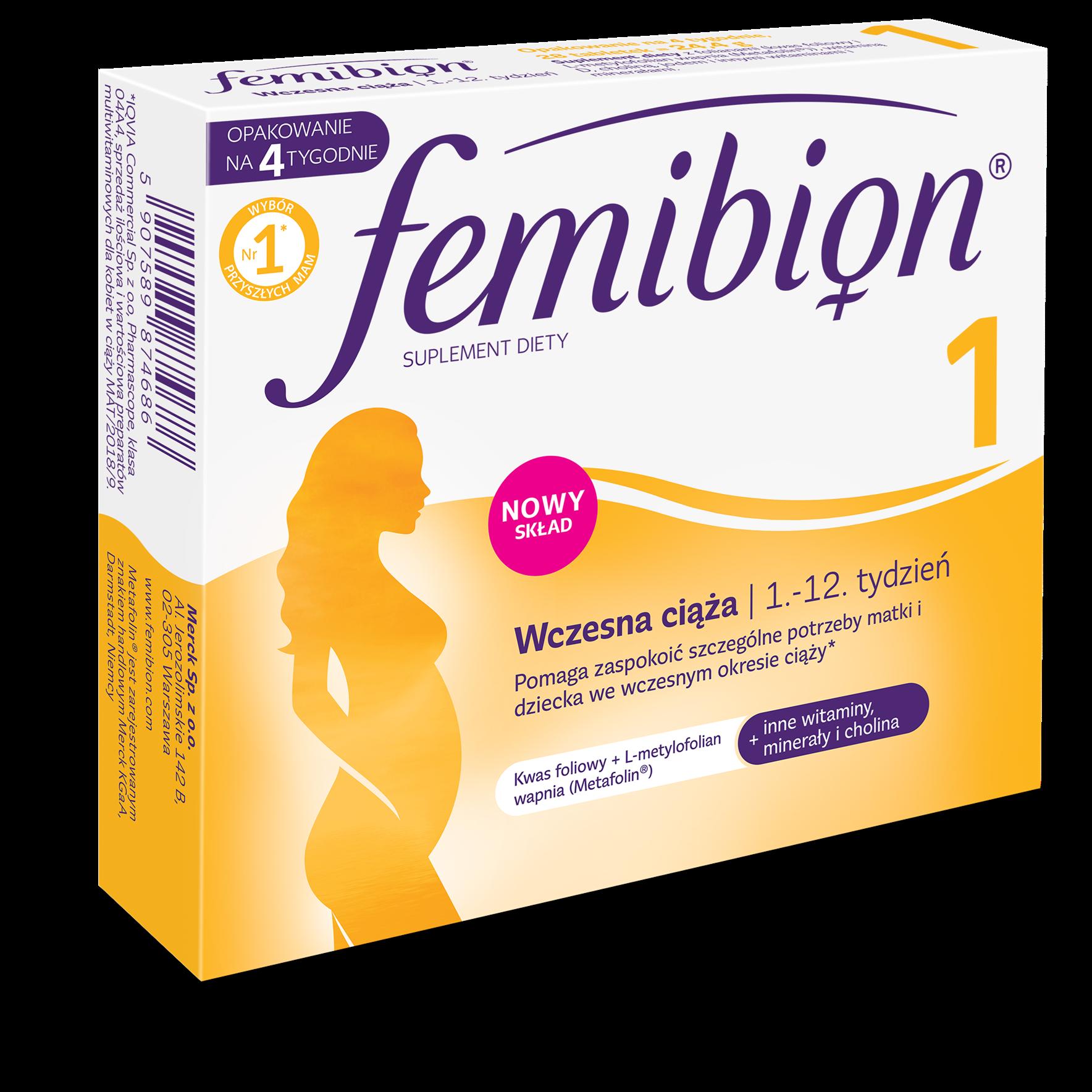 Витамины фемибион 1: состав, инструкция по применению для беременных, при планировании, отзывы