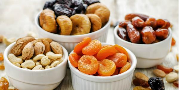 Сухофрукты на диете