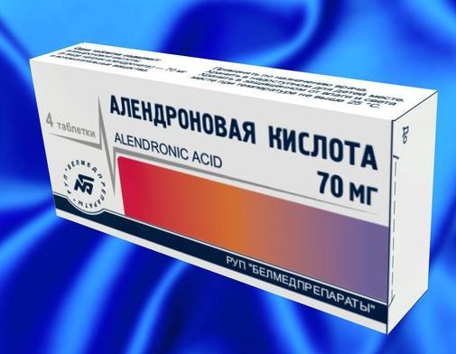 Описание и способ применения алендроновой кислоты