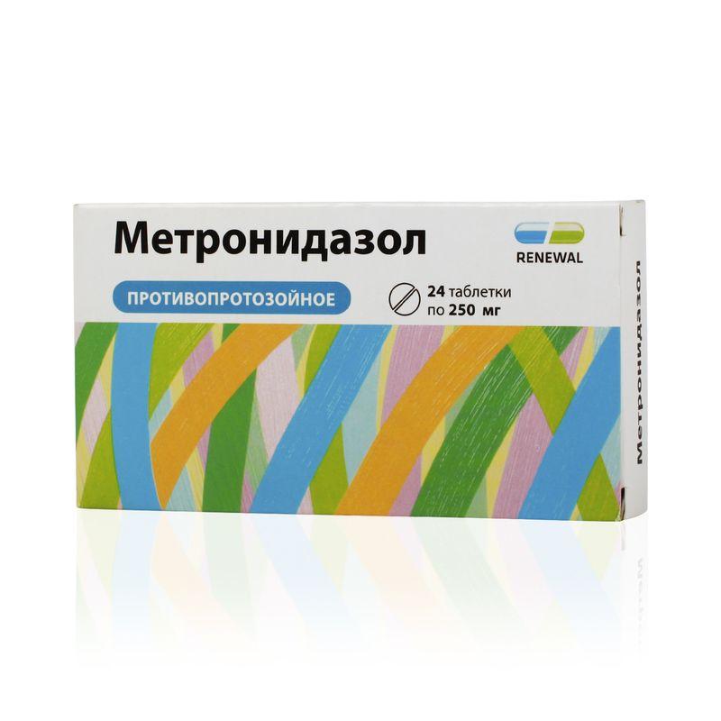 Метронидазол, свечи
