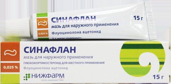 Особенности состава и воздействия препарата синафлан в устранении зуда