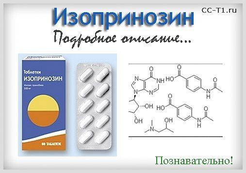 Действие препарата изопринозин при бронхите